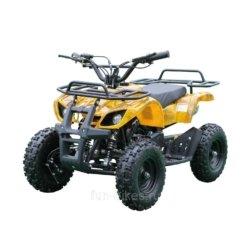 Квадроцикл детский бензиновый MOTAX ATV Х-16 Мини-Гризли с электростартером и пультом Желтый-камуфляж (пульт, задний привод, до 45 км/ч)