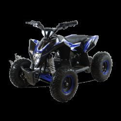 Детский квадроцикл на аккумуляторе Motax GEKKON 1300W черно- синий (пульт контроля, до 38 км/ч)