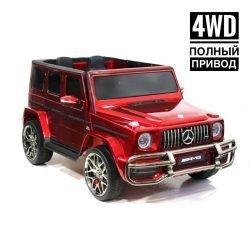 Mercedes-Benz AMG G63 4WD S307 красный (2х местный, полный привод, резина,  кожа, пульт, музыка)